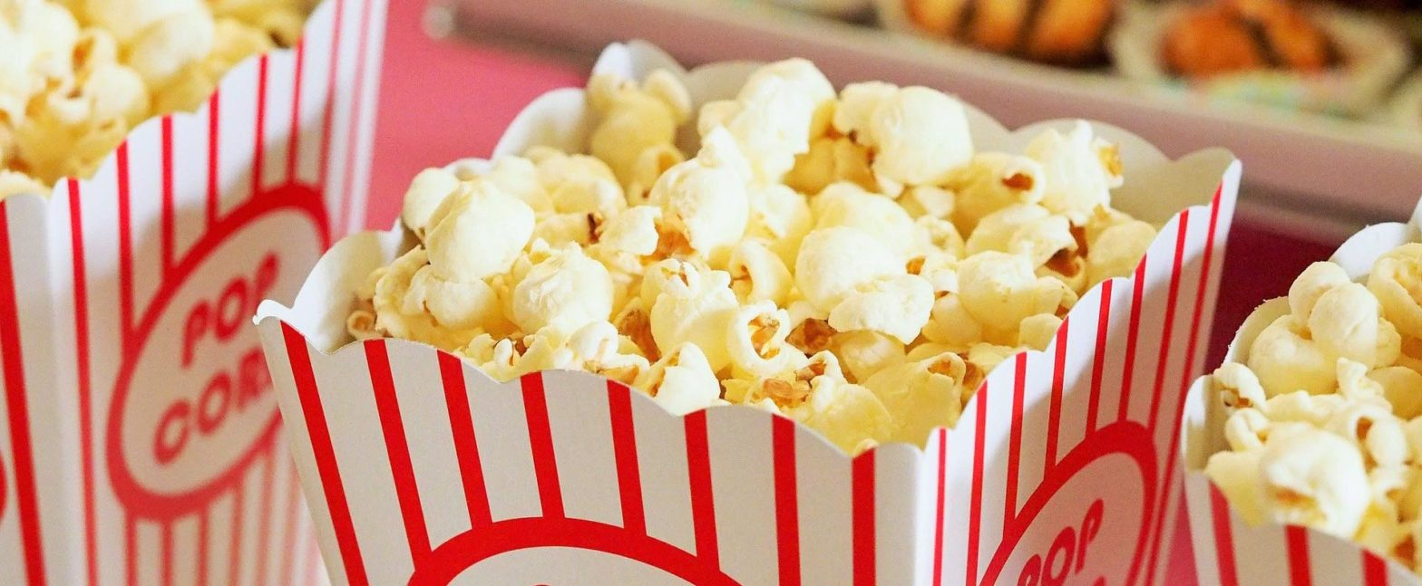 beau regard cinema popcorn